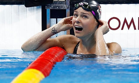 Denmark gets first gold as Blume wins 50m freestyle