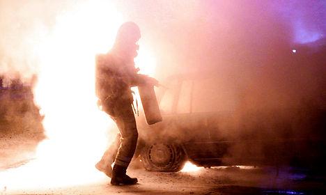 Copenhagen vehicle fires continue for third night