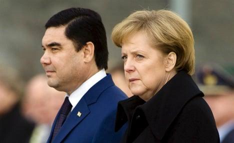 Merkel urged to address Turkmenistan rights record