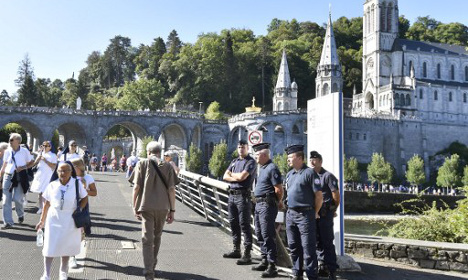 'Pray for France': Catholics rally at Lourdes shrine