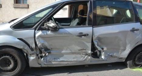 Drunk driver damages ten cars in 400 metres