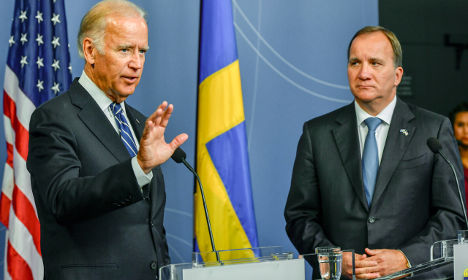 Joe Biden: 'Sweden has shown great leadership'
