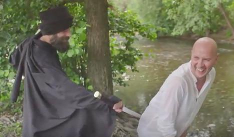 Norway comic mocks Islamic State with gay club anthem