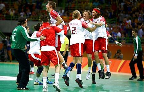Denmark stun France for men's handball gold