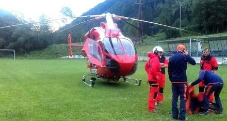 Swiss hiker in Austria rescued after sending SOS to America