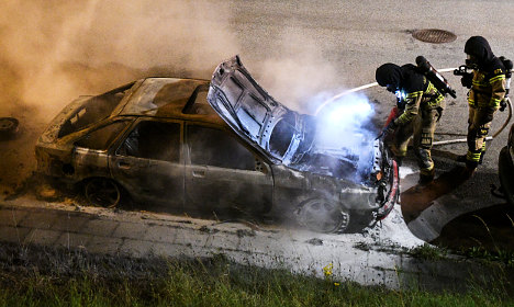 How Sweden hopes to stop car burnings