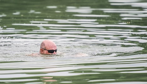 Naked swimmer hospitalized after angler hooks his penis