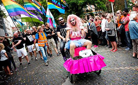 IN PICS: Record crowd shows its Pride in Copenhagen