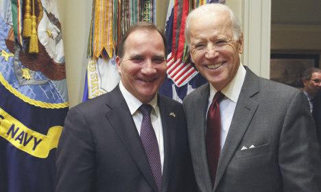 Stockholm airspace to close for Joe Biden visit