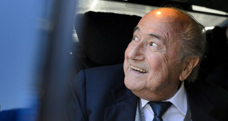 Blatter 'confident' as he faces Swiss sports court
