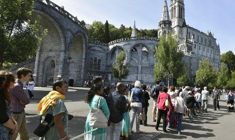 Lourdes prepares for pilgrims in shadow of attacks