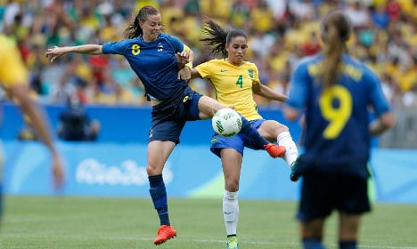 Sweden shock Brazil in penalty shootout