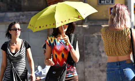 Heatwave warnings extended yet again as France bakes
