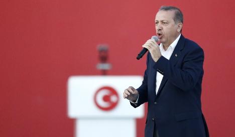 Erdogan: Germany is 'feeding the terrorists'