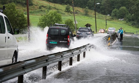 Western Norway braces for extremely heavy rains