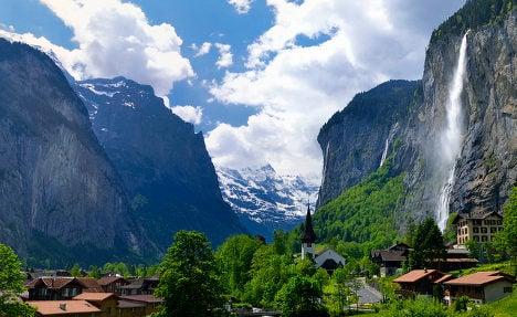 Italian base jumper killed while filming Swiss Alps stunt