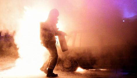 Cars burn across Sweden as fire-starters roam free