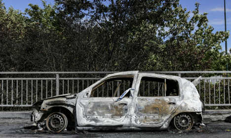 Malmö sees spike in summer car burnings