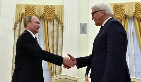Is German diplomacy getting too chummy with Russia?