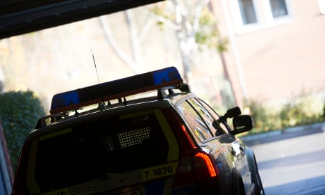 The curious case of Sweden's disappearing police car
