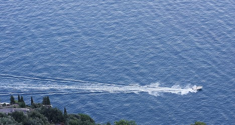 Police rescue drunk man trapped by own speedboat