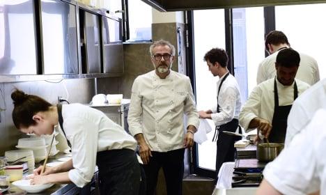 Italian chef uses Olympics food waste to feed homeless