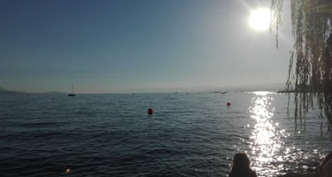 Scorchio! Late August heat breaks record in Geneva