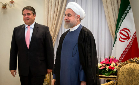 German hopes of export boom to Iran frustrated