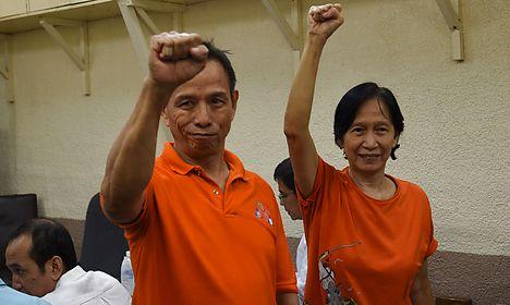 Philippine rebels optimistic ahead of Norway talks