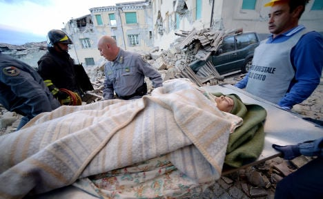 At least 120 dead in central Italy earthquake