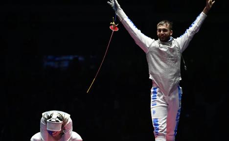 Italian fencer Garozzo wins men's foil gold