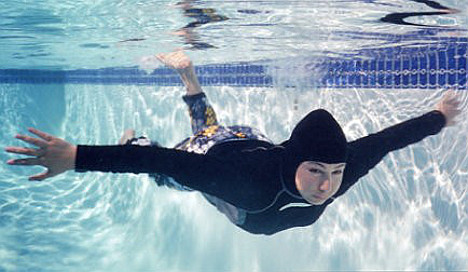 'Burqini' pool party in France called off after death threats