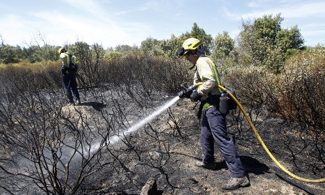 Severe fire risk in southern France as sun returns