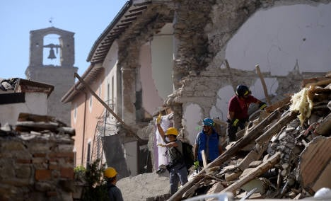 Italy earthquake: Here's how you can help