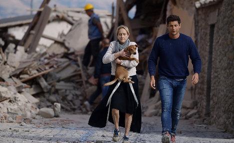 Strong aftershock rattles devastated Amatrice