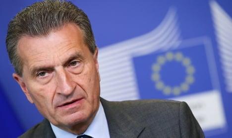 German EU commissioner doubts Brexit will happen