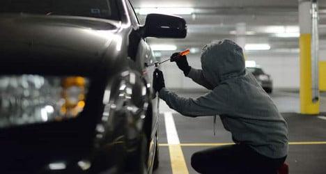 Report: Geneva is Swiss capital of car theft