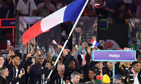 How France battles to keep French alive at Olympics