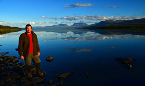 'I found the American dream in Swedish Lapland'