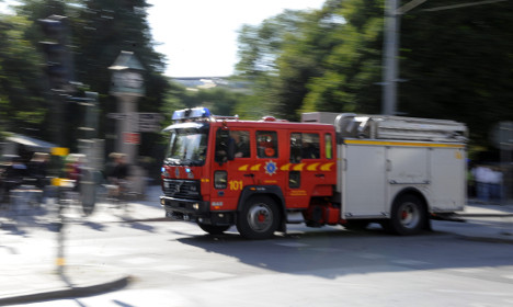 Drug manufacturing caused Stockholm explosion: police