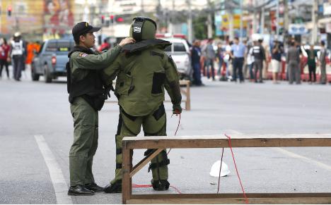 Three Germans injured in bomb attack in Thailand