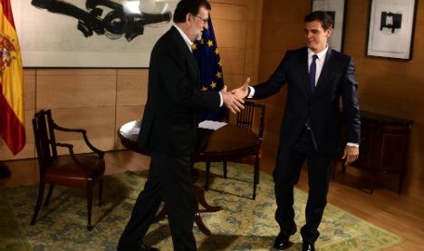 Ciudadanos sets terms in bid to break the political deadlock