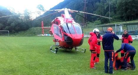 Hiker in Austria rescued after sending SOS via America