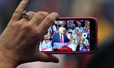 Trump accuses Ericsson of bribing Hillary Clinton