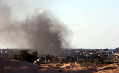Italy welcomes anti-Isis air raids in Libya's Sirte