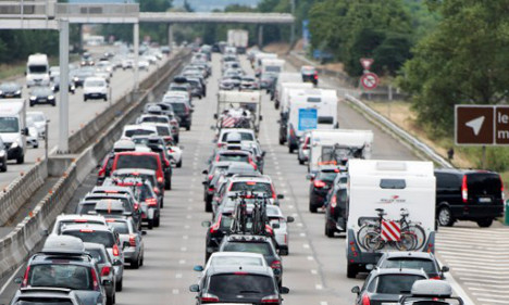 Motorists in France set for traffic hell this weekend