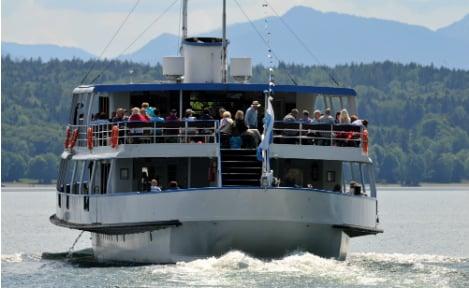 Underwater pensioner hunts boats on famed Bavarian lake