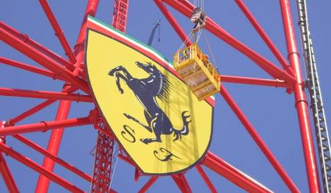 Spain's Ferrari Land unveils fastest rollercoaster in Europe