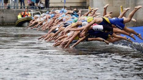Paris mayor dreams of seeing athletes swim in the Seine