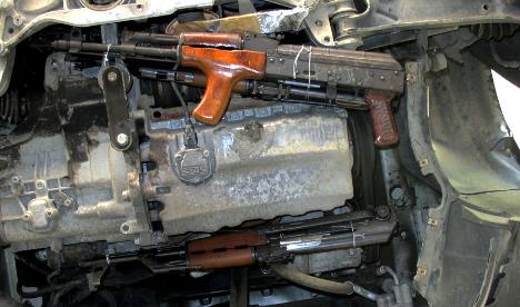 German court jails man who tried to smuggle guns to Paris